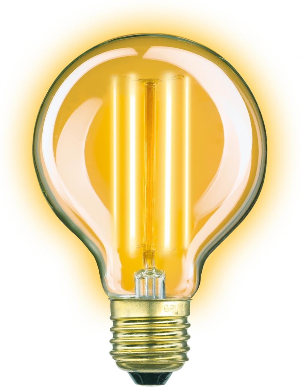 Lichtbron Classic Gold Globe Helder KS Verlichting - LiL.nl